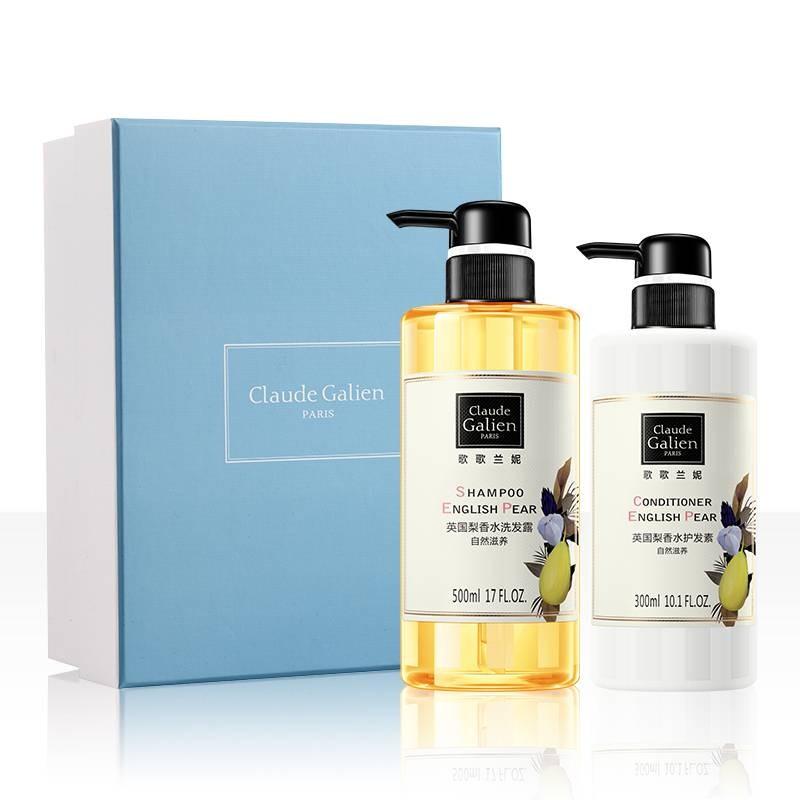 歌歌兰妮英国梨香水洗发水护发素套组500ml+300ml