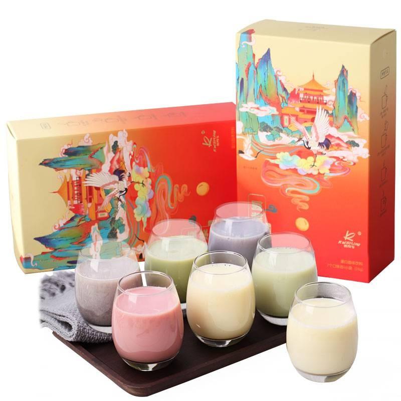 凯司令七彩豆浆粉营养早餐冲饮家用速溶豆浆2盒