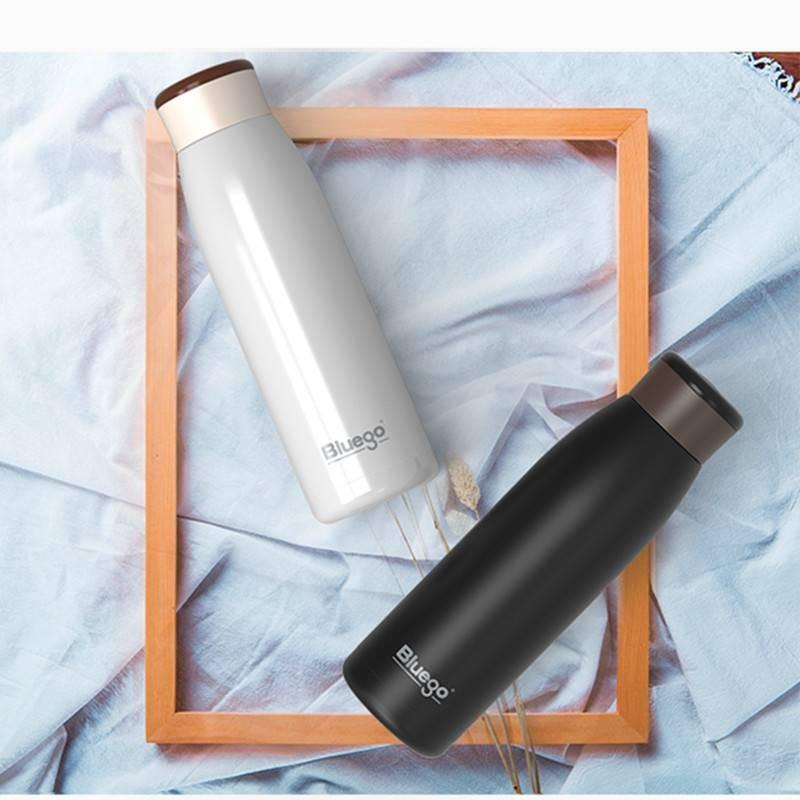 Bluego蓝狗保温杯冷暖魔法杯快速降温升温420ml