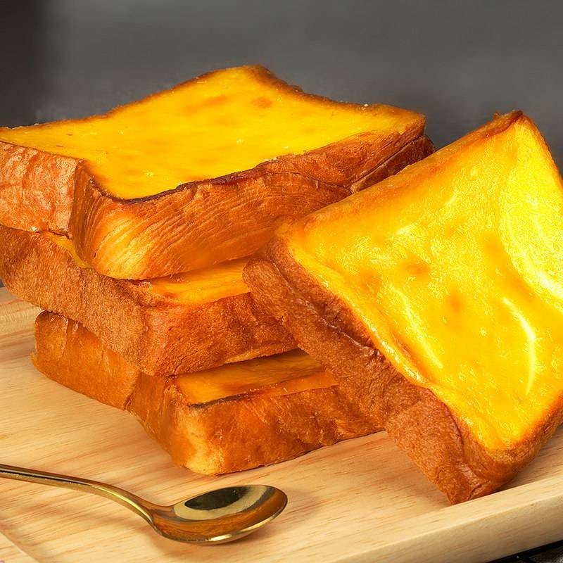 老先生岩烧乳酪吐司面包零食休闲面包整箱早餐食品手撕糕点美食