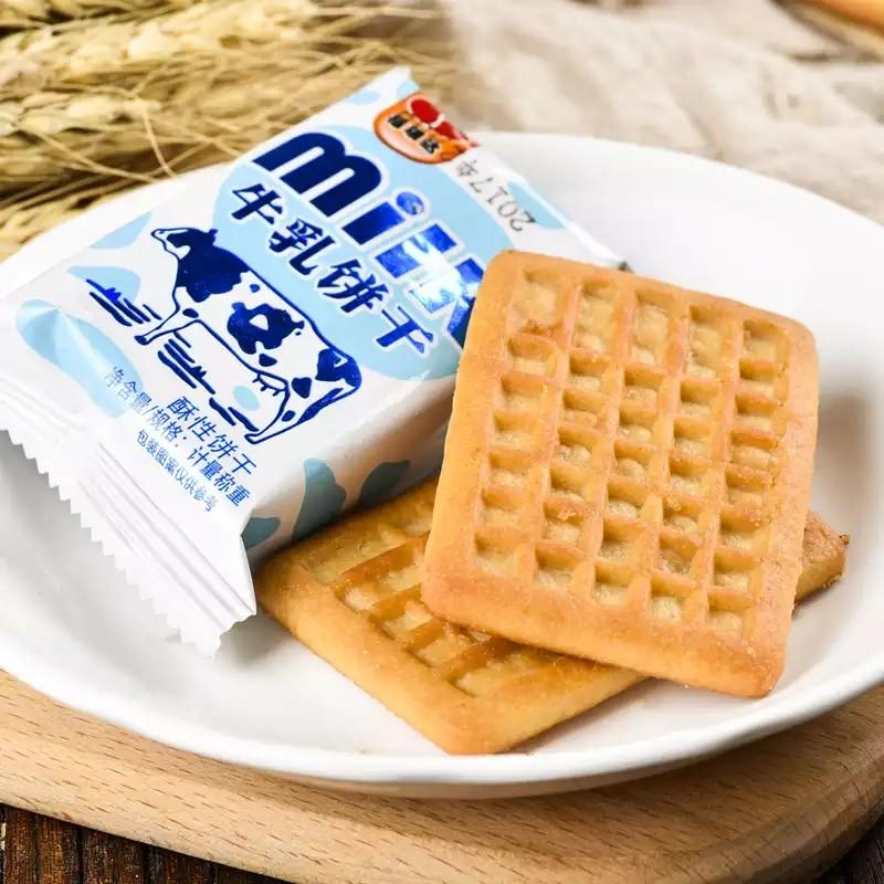 福瑞达 牛奶炼乳早餐代餐饼干