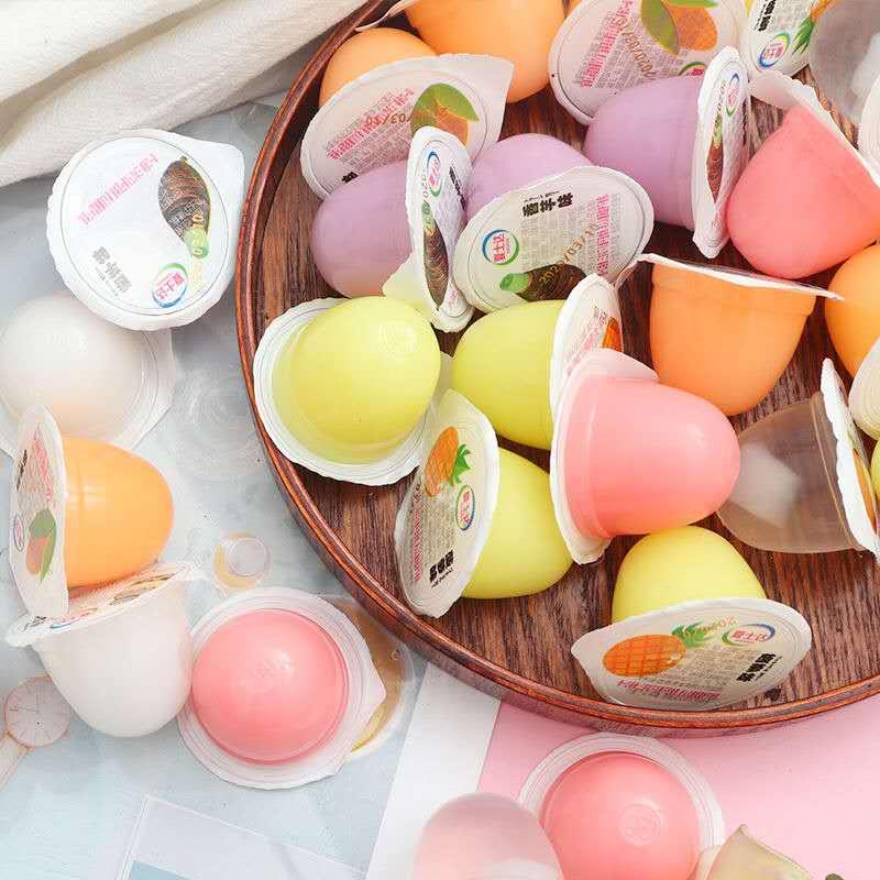 乳酸果冻布丁儿童休闲小吃零食大礼包夏季食品