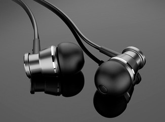 兰士顿M305 重低音入耳式耳机 带麦调音 小巧轻盈
