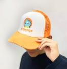 新灵兽小龙仔logo防晒鸭舌 新灵兽周边橘黄色帽子男女潮款