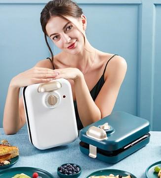 网红palatable三明治轻食早餐机加热吐司压烤机面包机