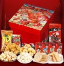 旺旺零食大礼包1000g雪饼休闲饼干仙贝食品整箱礼盒新年货节礼包