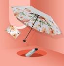新款upf50+五折8骨胶囊钛银遮阳伞防晒防紫外线晴雨两用